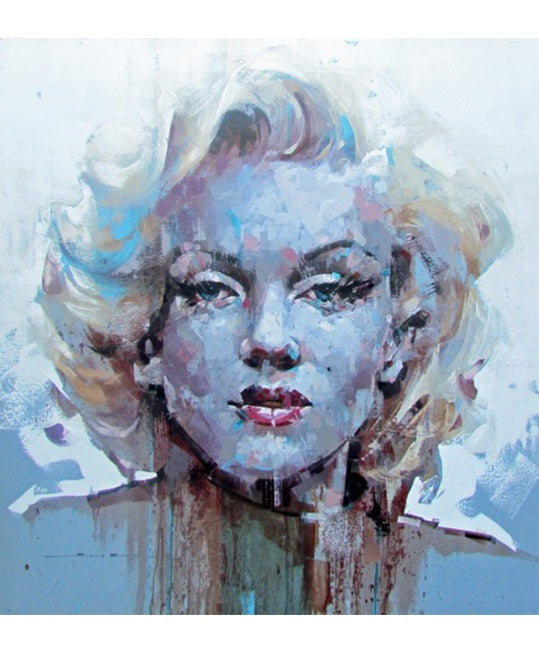 Jimmy Law signed and numbered print Marilyn Monroe