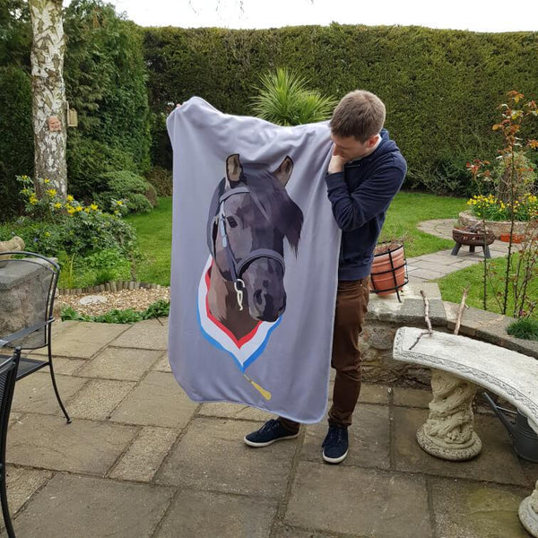 personalised horse blanket