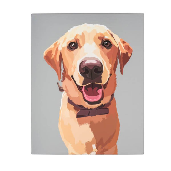 print your pet on canvas