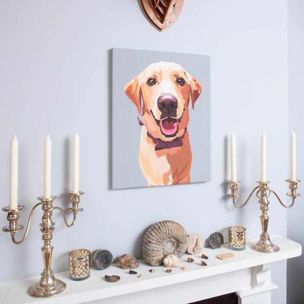 amazing pet canvas on the wall