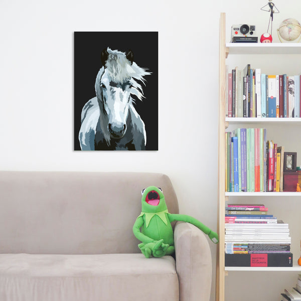 personalised horse fine art painting