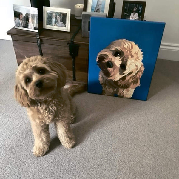 Dog Wrapped Canvas