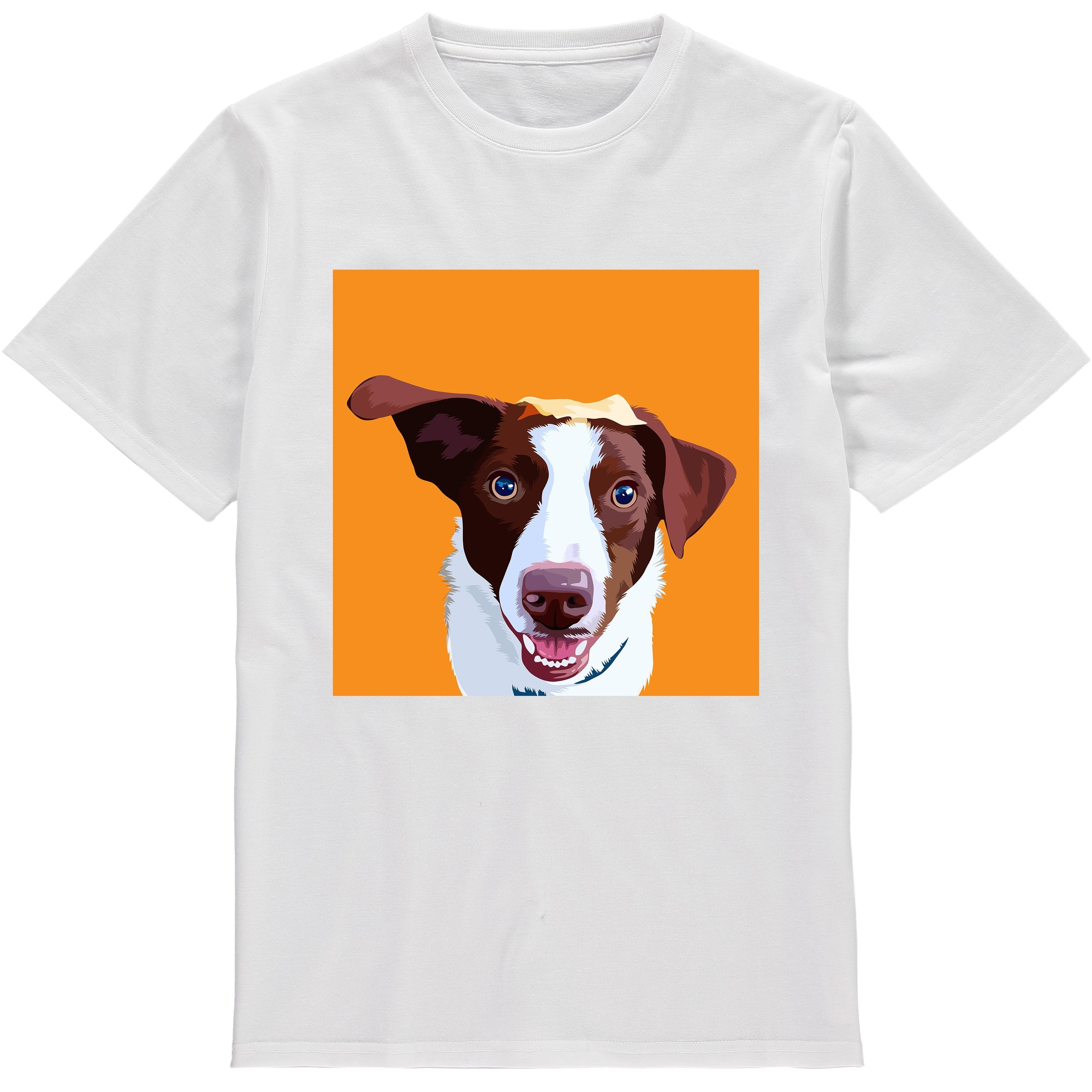 b76de345 Custom Dog Shirts | Personalized Dog T-Shirts | Canvas Creatures UK