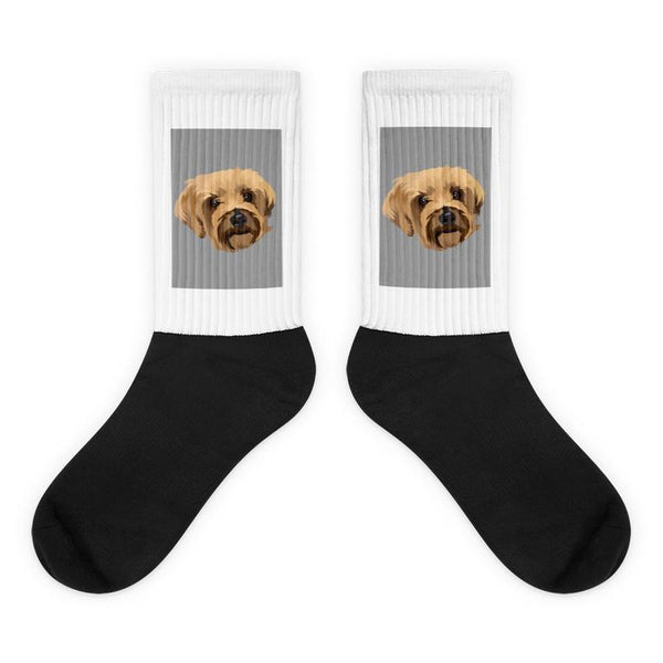 custom made dog socks