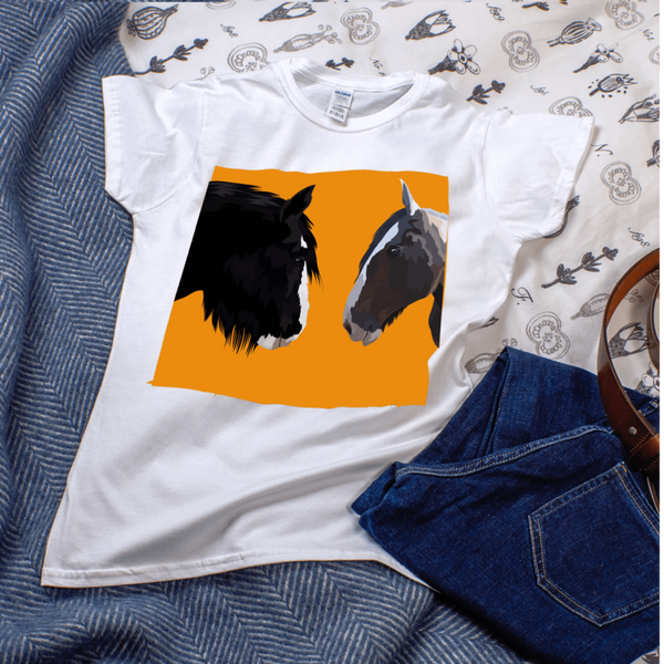 personalised horse t-shirts