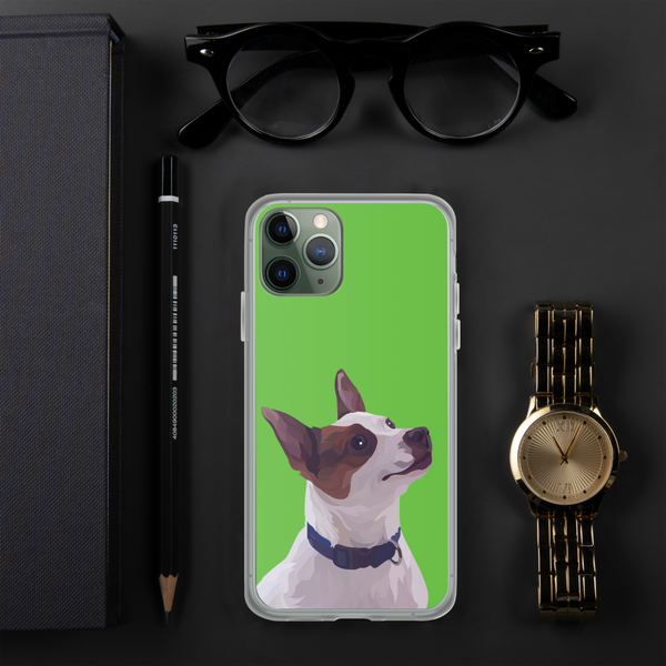 personalised dog iphone case