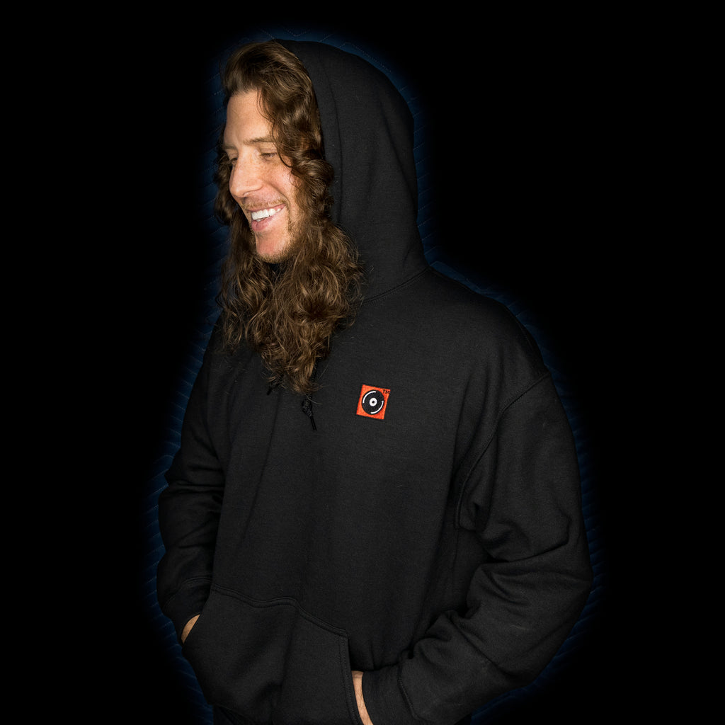 Cooked Records™ Embroidered Hooded Sweatshirt