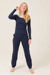 Jogging (Bleu marine) - Escale-shop