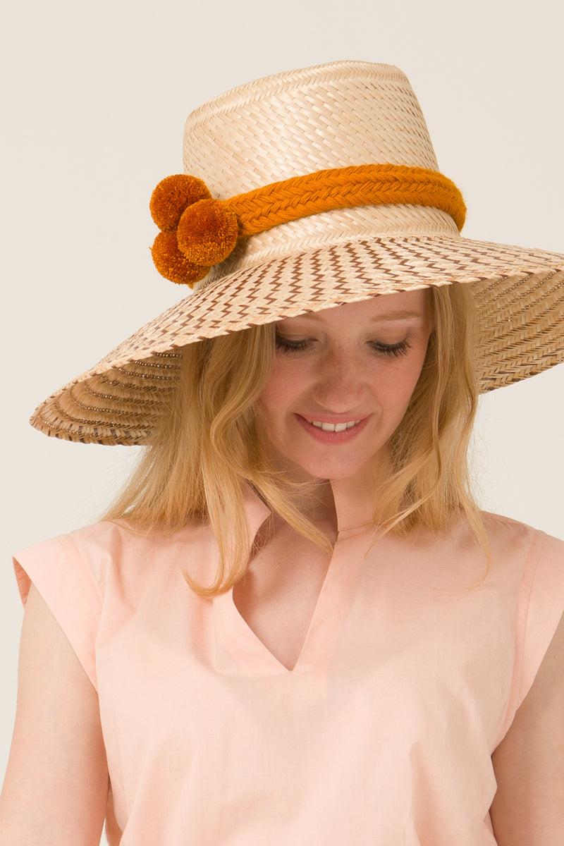 Chapeau ISLA orange - Escale-shop
