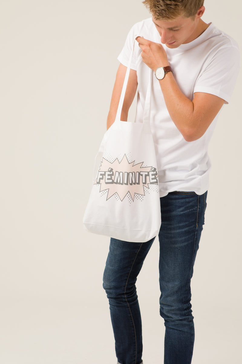 Tote bag - Féminité - Escale-shop