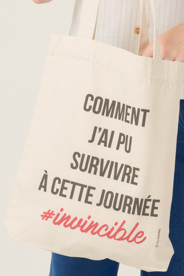 Tote bag - Comment j'ai pu - Escale-shop