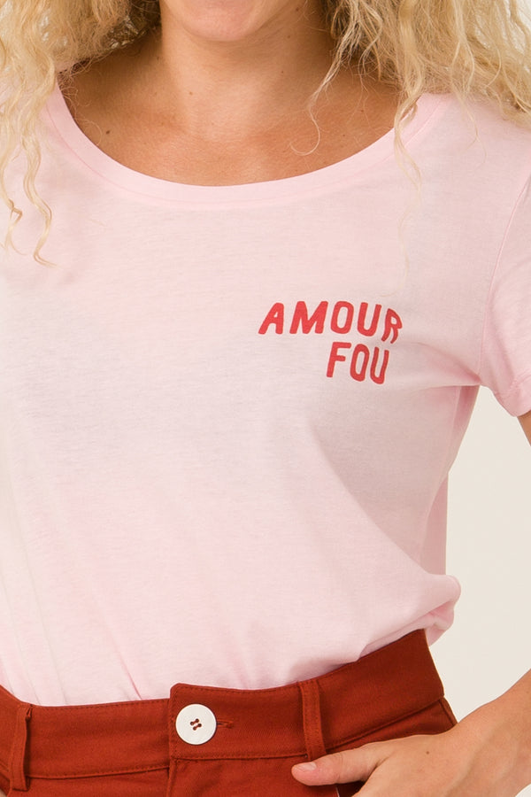 T-shirt - Amour Fou - Escale-shop