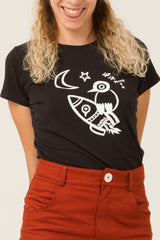 T-shirt - To the moon - Escale-shop