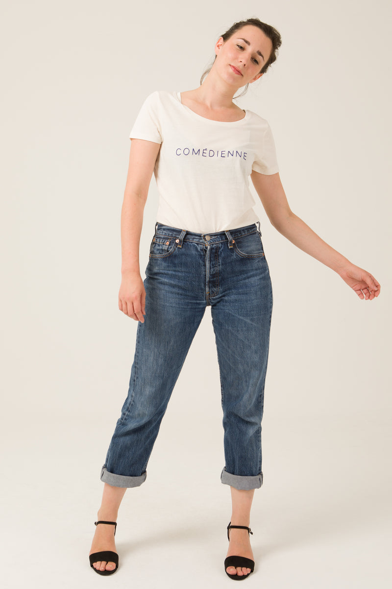 T-shirt - Comédienne - Escale-shop
