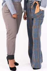 Pantalon Large taille haute - Escale-shop