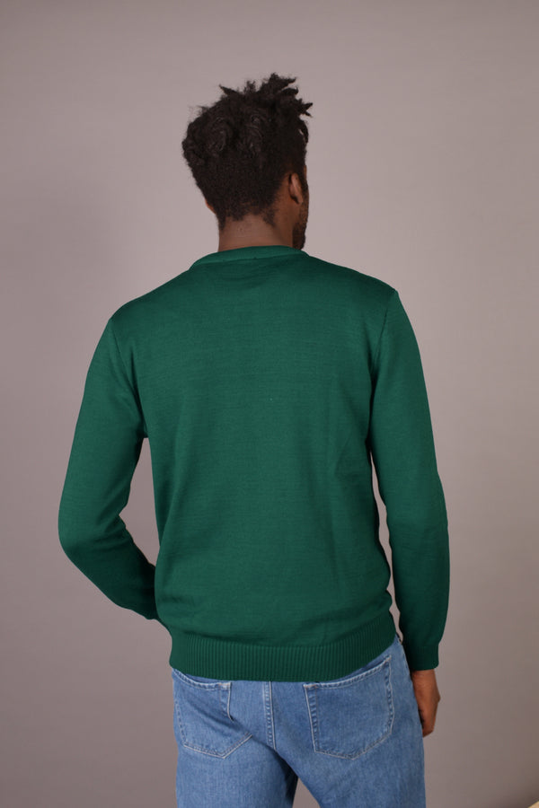 Dean - Le pull Made in France en laine mérinos 100% recyclée - Escale-shop