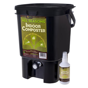 All Seasons Indoor Composter® Kit – With All Seasons Liquid Bokashi™
