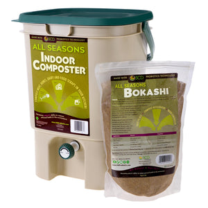 All Seasons Indoor Composter® Kit – With All Seasons Bokashi™