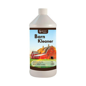 SCD Probiotics Barn Kleaner™ – Natural Barn Cleaner and Manure Treatment