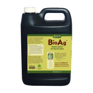 SCD Bio Ag® - Probiotic Additive for Farms and Gardens | Beneficial Soil Amendment | Microbial Soil Inoculant