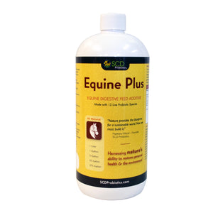 SCD Probiotics Equine Plus™ - Liquid Probiotic for Horses