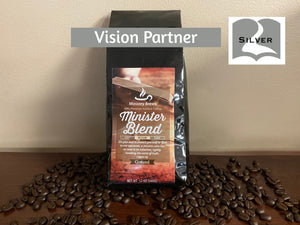 Silver Coffee Subscription 1 Bag Monthly ($25.00 Donation + $5.00 S&H)