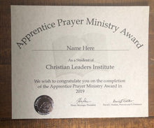 Load image into Gallery viewer, Apprentice Prayer Ministry Award (Tier 1)