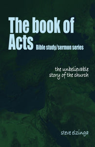 The Book of Acts $6.99