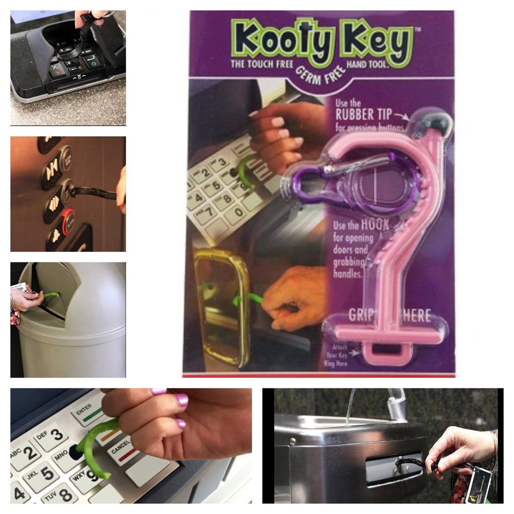 Germ Prevention Kooty Key $7.99 (Shipping calculated at checkout based on location)