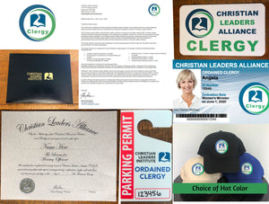 Verify Completion of Clergy Kit Plus Monthly Payments