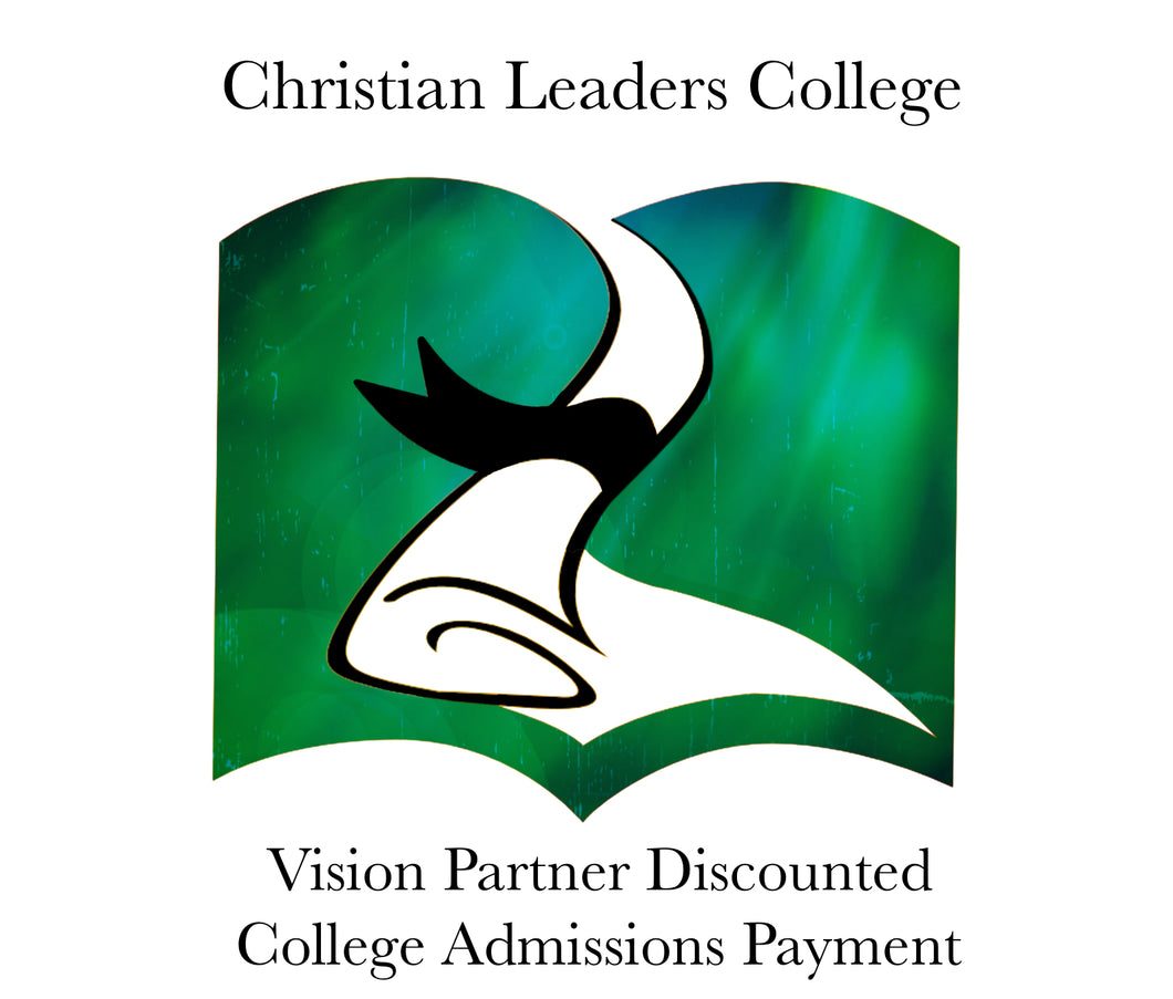 Vision Partner College Admissions Fee $75 (One Time)