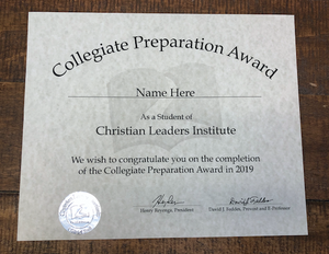 Collegiate Preparation Award