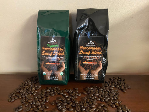 Decaffeinated Ministry Brews Coffee $9.99 (Plus Shipping)