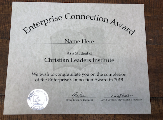 Enterprise Connection Award (Tier 1)