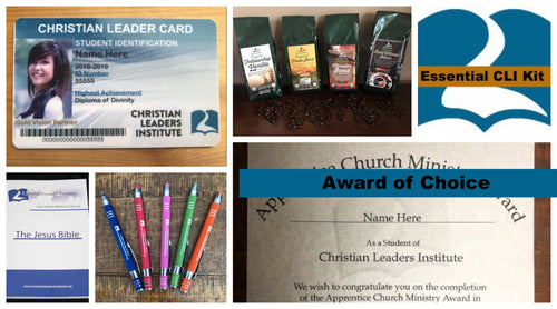 Christian Leaders Essential Kit (Choice of Award)