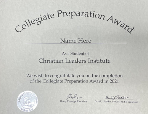 Collegiate Preparation Award $3.00 (Tier 3)