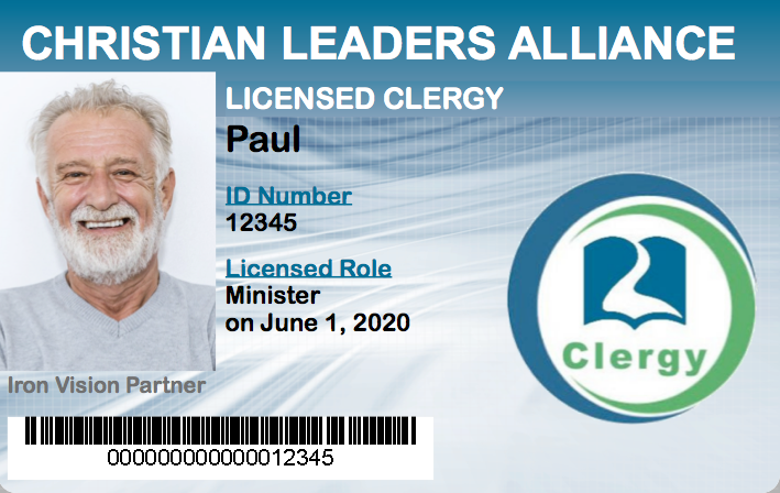 Licensed Minister ID