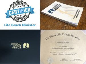 Certified Life Coach Minister Kit $125