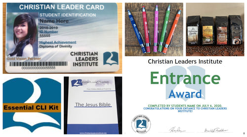 Christian Leaders Essential Kit (Entrance Award)