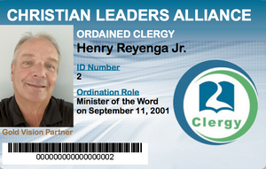 Minister of the Word Student ID
