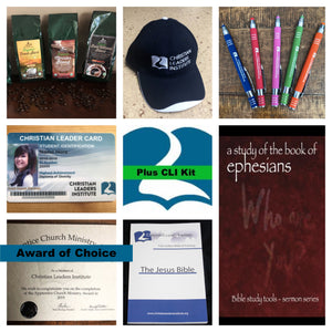 Christian Leaders Plus Kit (Choice of Award)