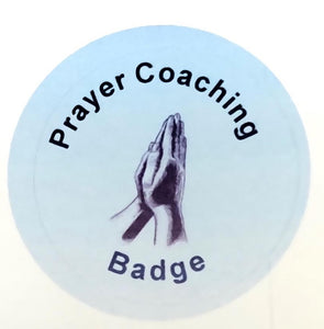 Prayer Coach Badge
