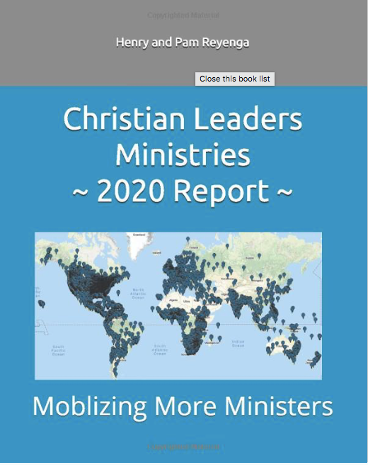 Christian Leaders Ministries Report $4.00