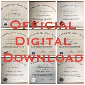 Official Award (Digital Download)