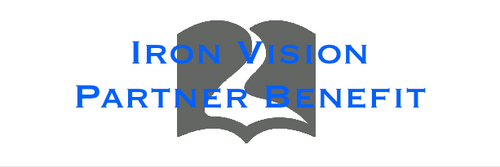 Iron Vision Partner Free Christian Leaders Card Student ID
