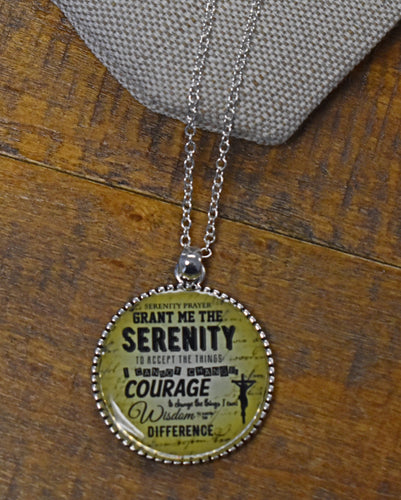 Prayer of Serenity Necklace $18.99