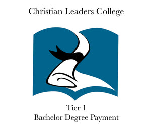 Tier 1 Bachelor Degree Payment $120 (One Time)