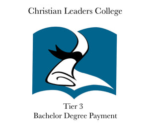 Tier 3 Bachelor Degree Payment $420 (One Time)