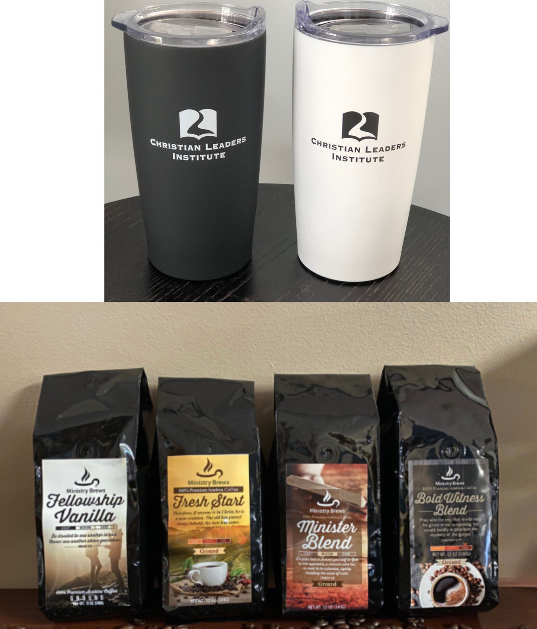 Coffee and Tumbler Package $25