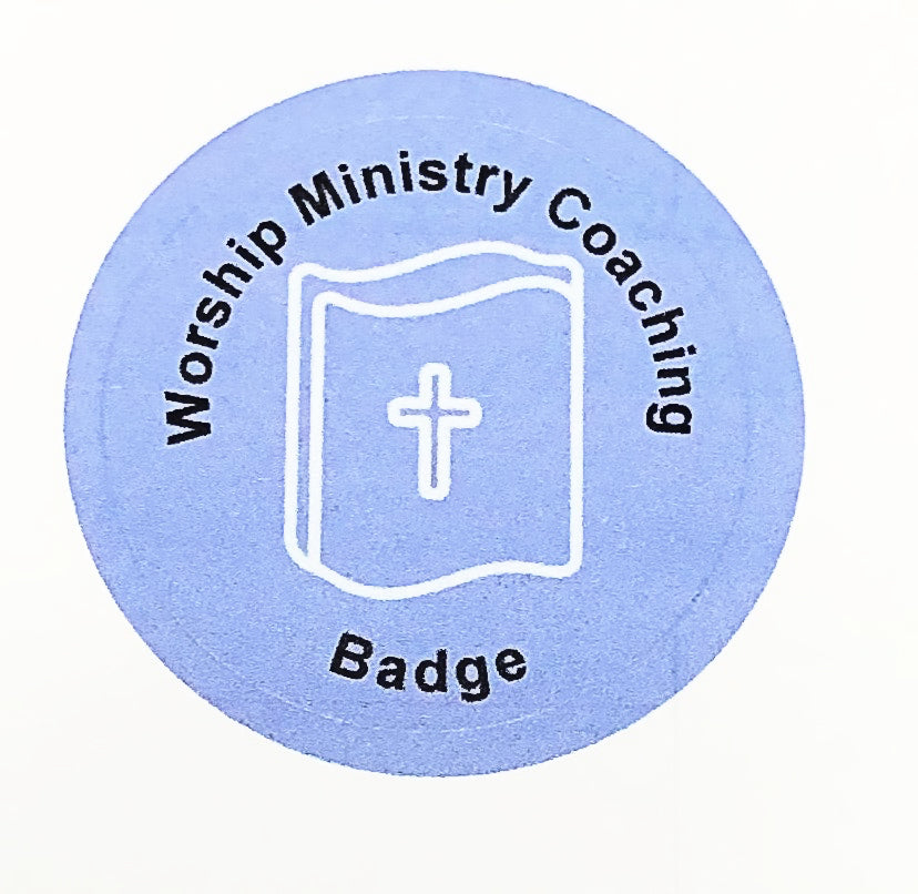 Worship Ministry Coaching Badge